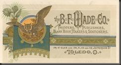 BF Wade Letterhead 1