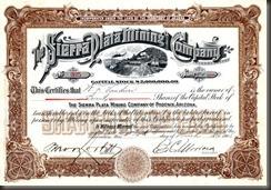 BF Wade stock certificate