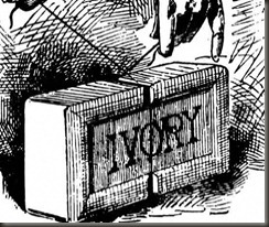 Ivory soap drawing